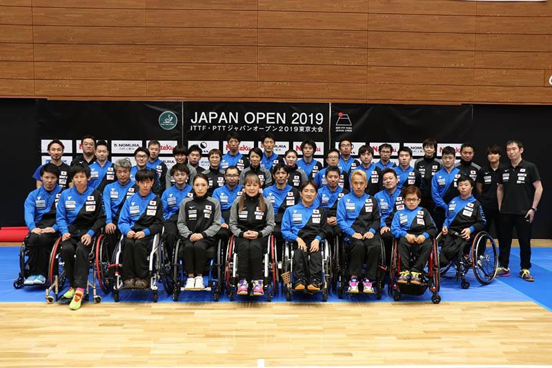 ITTF PTT ジャパンオープン 結果報告